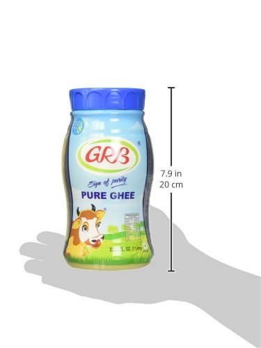 GRB Pure Ghee - Sign of Purity / 33.81 Fl. Oz., 1 Litre by GRB (Image #4)