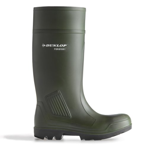 Dunlop C462933 - Stivali di Sicurezza in Gomma - Uomo (43 EUR) (Verde)