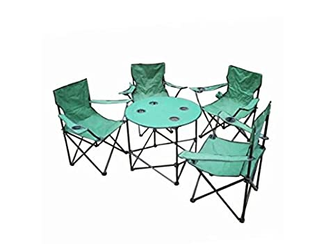 Admirable Amazon Com Bulk Buys Folding Camping Table Chairs Set Forskolin Free Trial Chair Design Images Forskolin Free Trialorg
