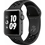 Apple Watch Nike+ Series 3 GPS 38mm Space Gray Aluminum Case with Anthracite/Black Nike Sport Band - MTF12LL/A