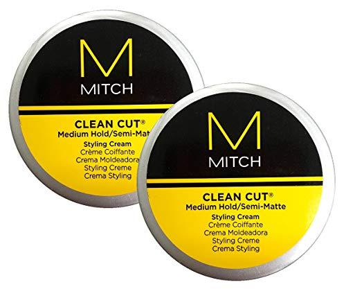 Clean Cut Medium Hold Semi Matte Styling Cream Pack of 2