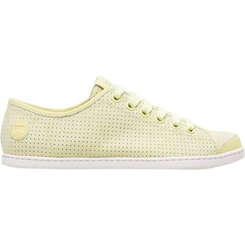 Camper Uno Perf Sneaker - Women's Light Pastel Yellow, US 10.0/EU 40.0