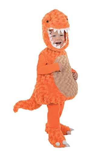 [Underwraps Baby's T-Rex Belly, Orange/Tan, X-Large] (Trex Baby Costumes)