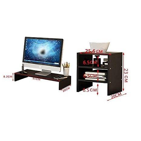 AYHa Panel de madera Monitor de computadora Estante elevado ...
