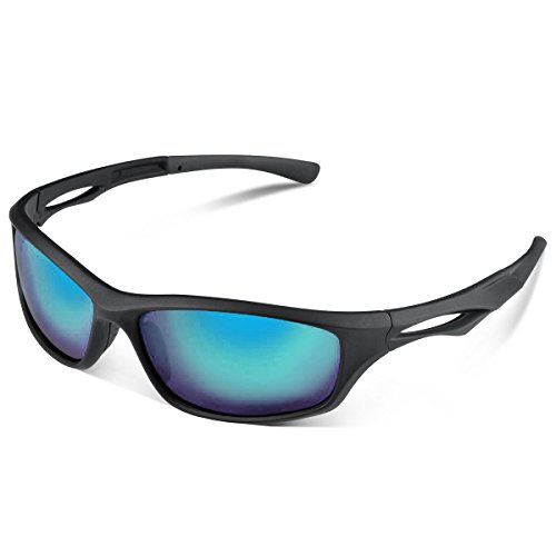 Polarized Sports Sunglasses, UV Protective, Polarized Designer Fashion, Sports Sunglasses, for Baseball, Cycling, Fishing, Golf, Superlight - Sunglasses Coupon Amazon