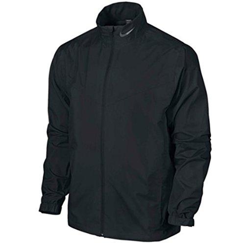 Nike Men's Storm-FIT Rain Golf Soft Shell Jacket - Black (Medium)