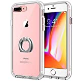 JETech Case for Apple iPhone 8 Plus and iPhone 7 Plus, Ring Holder
