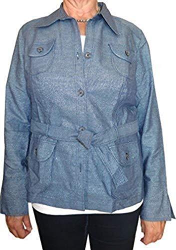 Con Cinturón En De Jeans Chaqueta Heine Azul gdn0gT