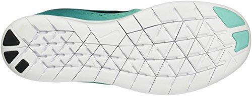 Nike Free RN, Scarpe da Ginnastica Uomo Multicolore (Hyper Turq/Black/Rio Teal/Volt/White)
