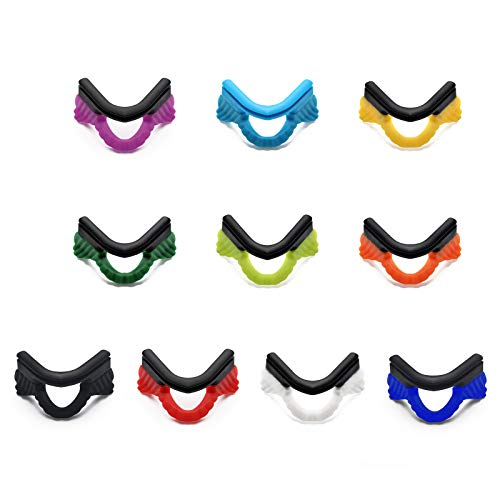 Vented Strike Accessory Lens - 10 Pairs Replacement Nosepiece Accessories for Oakley M Frame Series E10 01