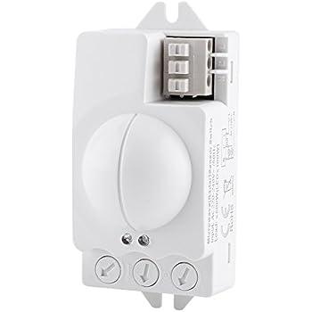 Amazon Com Pdlux 5 8ghz Microwave Motion Sensor Switch