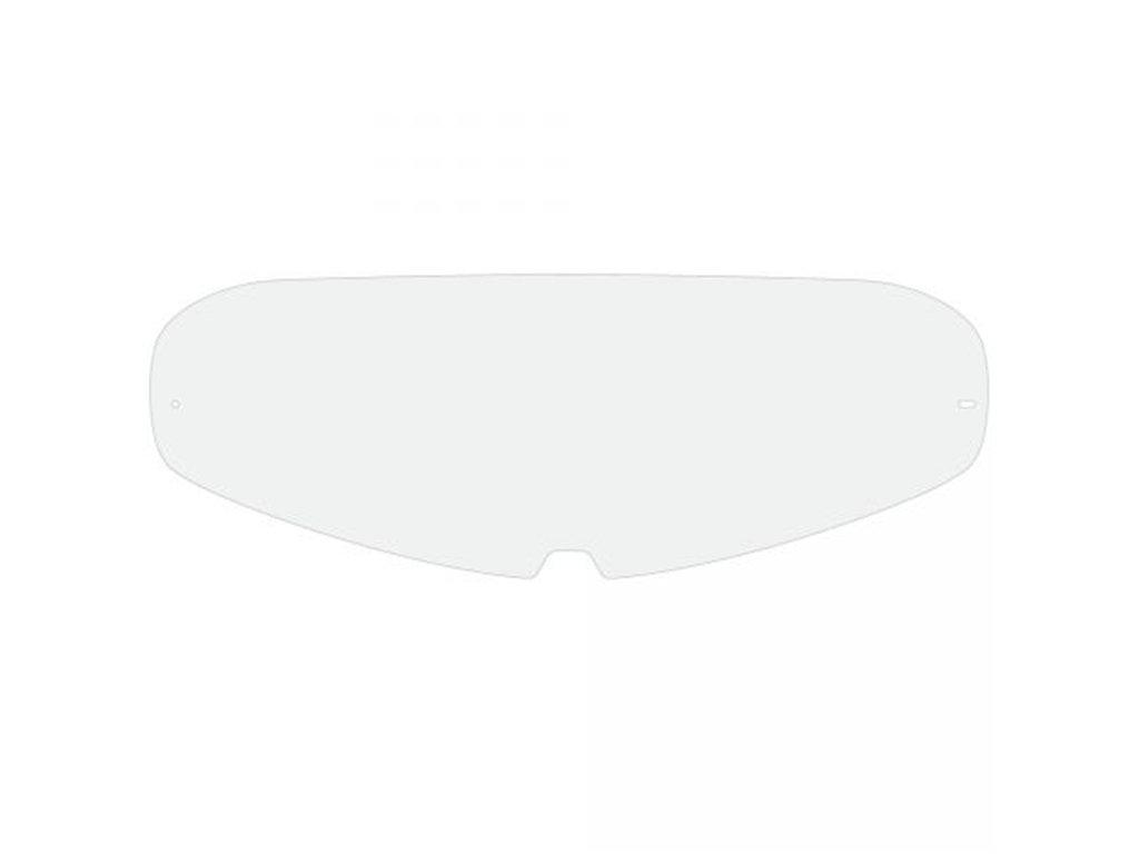 D DOLITY Casco Moto Aperto 3//4 Con Antiappannante E Visiera Trasparente Universale Nero opaco M