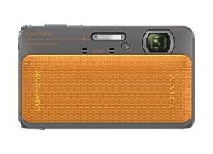 Sony Cyber-shot DSC-TX20 16.2 MP Exmor R CMOS Digital Camera with 4x Optical Zoom and 3.0-inch LCD (Orange) (2012 Model)