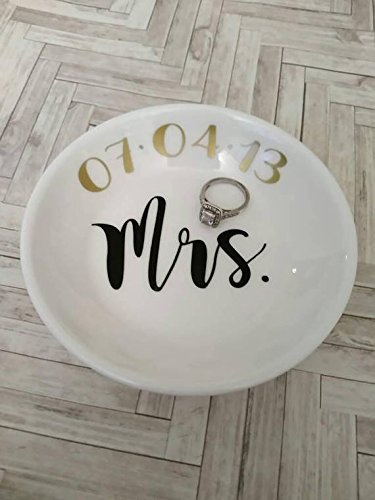 Amazoncom Ring dish Wedding ring dish Engagement Jewelry
