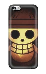 High Grade ZippyDoritEduard Flexible Tpu Case For Iphone 6 Plus - Strawhat Pirates Logo hjbrhga1544