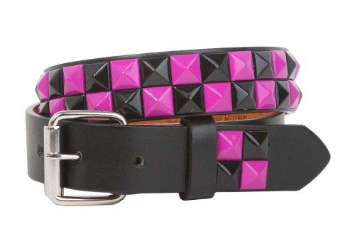 Rock Leather Studded Belt (Kids 1