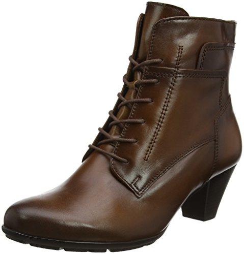 Gabor Damer Grundlæggende Støvler, Sort Brun (22 Sadel (virkning))