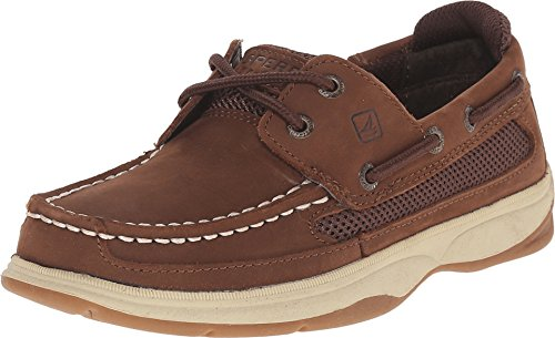 Sperry Top-Sider Kids Boy's Lanyard (Little Kid/Big Kid) Cigar Brown Boat Shoe 1 Little Kid M ()