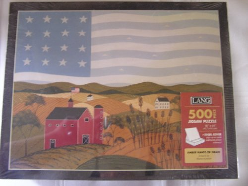 Warren Kimble Picture - Amber Waves of Grain Warren Kimble Artwork 500 pc Puzzle by Lang