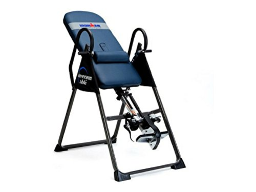 IRONMAN Gravity 4000 Highest Weight Capacity Exercise & Fitness Inversion Table by IRONMAN