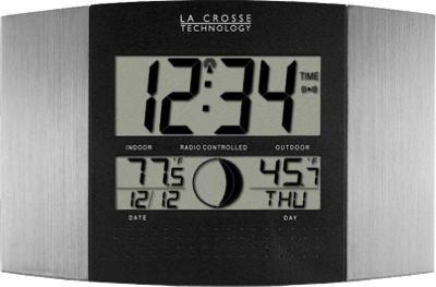 La Crosse Technology WS-8117U-IT-AL Wall Clock by La Crosse Technology