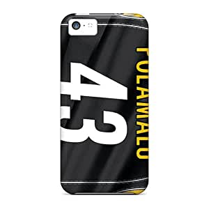 New Customized Design Pittsburgh Steelers For Iphone 5c Cases Comfortable For Lovers And Friends For Christmas Gifts
