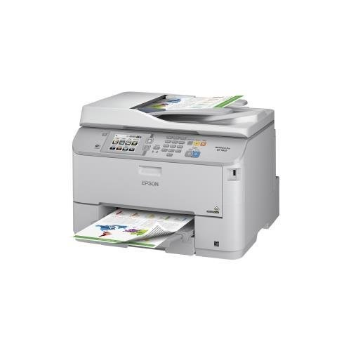 Epson C11CD08201 WorkForce Pro WF-5620 Inkjet Multifunction Printer - Color - Plain Paper Print - Desktop - (Multifunction Plain Paper Fax Machine)