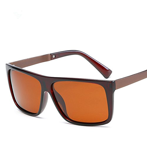 Los marco marrón Los Al De del Sol Lente Youmei® Tendencia De aire Para marrón La Deportes Gafas Hombres Anti ultravioleta Polarizadas Libre ptpSRqw