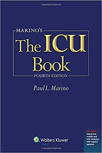 Marino's The ICU Book: Print + Ebook with Updates (ICU Book