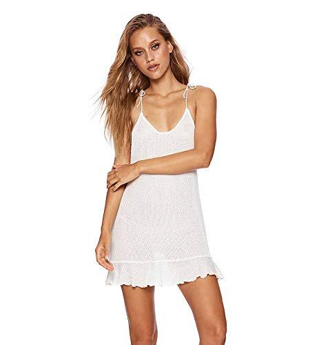Beach Bunny Ivory Annika Dress, M