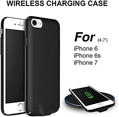 Hoidokly Funda iPhone Qi Receptor Wireless Charging Receiver Case ...