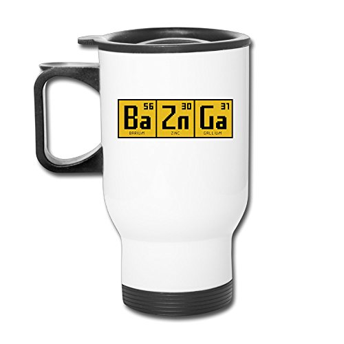 Cool Bazinga Chemical Element Art Clip Tumbler Coffee - Bazinga Travel Mug