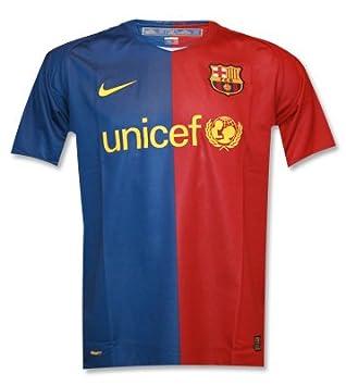 Camiseta Fc Barcelona Nike 1ª Equipación 2008 09 Blaugrana (XL)  Amazon.es   Deportes y aire libre ba434b96315e5