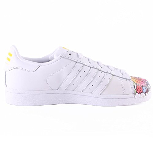Mr Adidas 1 Superstar rouge Sport Blanc Mixte Shell Toe Adulte qpnfv6w
