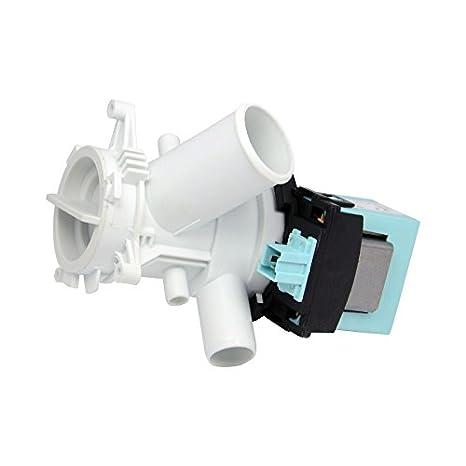 WESSPER® Bomba de drenaje para lavadora Beko WMN6510MA ...