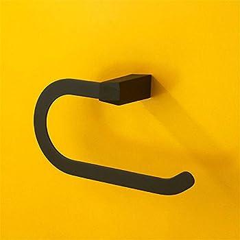 Yomiokla Bathroom Accessories - Kitchen, Toilet, Balcony and Bathroom Metal Towel Ring A simple built-in shelf wall.