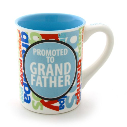 Enesco 16 Ounce Promoted Grandfather 4 5 Inch