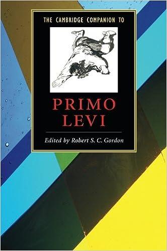 The Cambridge Companion to Primo Levi (Cambridge Companions to Literature)