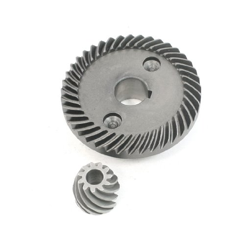 uxcell Power Tool Angle Grinder Helical Teeth Bevel Gear Set for Ken 150 ()