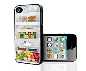 Open Refrigerator Hard Snap on Case (iPhone 5/5s)