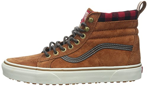 Stivaletto Ginger US Unisex VansU Adulti Marrone a SK8 Taglia Glazed Pantofole EU Colore 8 5 41 Rnqpt