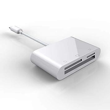 Yanghao Lector de Tarjetas SD para Apple, 3 en 1 Lector de ...