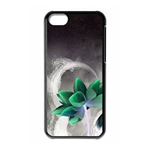 Flower iPhone 5c Cell Phone Case Black MSU7140382