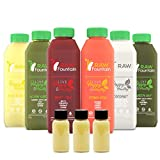 Juice Cleanse by Raw Fountain Juice - 100% Fresh Natural Organic Raw Vegetable & Fruit Juices - Detox Your Body in a Healthy & Tasty Way! (3 Day w/Coconut)