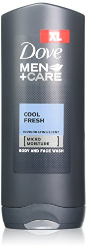 (Dove Men + Care Body and Face Wash, Cool Fresh, 13.5 Ounce (Pack of)