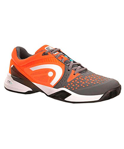 Head Revolt Pro Clay Men Gror, Zapatillas de Tenis para Hombre Gris / Naranja