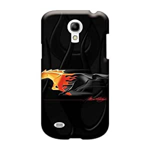 Samsung Galaxy S4 Mini AXN25930uDzm Allow Personal Design High-definition Mustang Pony Image Protector Hard Cell-phone Case -CharlesPoirier
