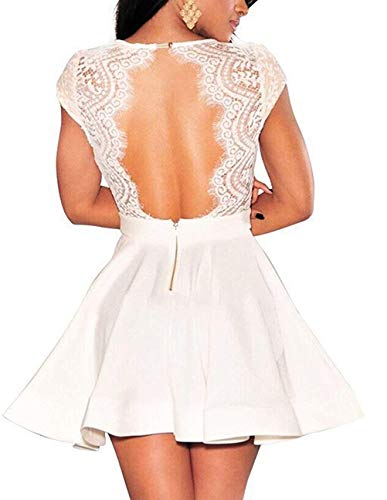 Womens Dressprom And Clothing 3m Black Home 30 Lace Under Club Dollars Violate Coming White Skater Reel Dres Lacw S Nude Homecoming For Nuo Women Whitehomecoming 50 Illusion 1l Dresses Ragged