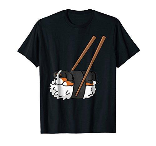 Bernese Mountain Dog Sushi Shirt Funny Dog Gift T-Shirt