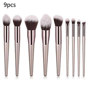 6pcs Make Up Foundation Eyebrow Eyeliner Blush Cosmetic Concealer Brushes Makeup Brushes Set Professional Brochas Maquillaje 40* Makeup